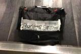 Пассажиры испугались мешок с подписью «бомба»